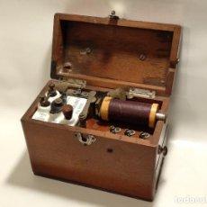 Antigüedades: ANTIGUO APARATO MÉDICO PARA PROPORCIONAR DESCARGAS ELÉCTRICAS - CHARLES CHARDIN, PARIS. Lote 125140091