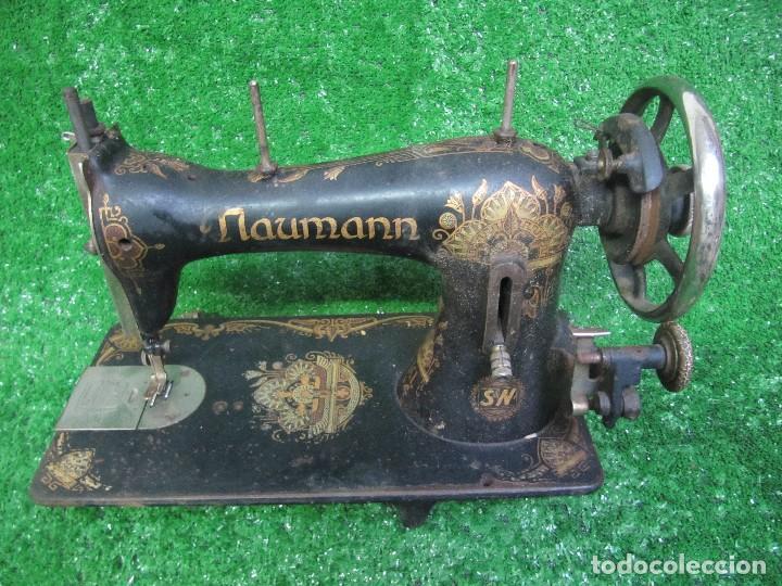 Naumann 705 antigua maquina de coser - Vendido en Venta