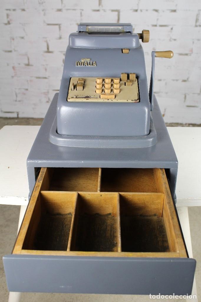 REGISTRADORA TOTALIA AÑOS 50 (Antigüedades - Técnicas - Aparatos de Cálculo - Cajas Registradoras Antiguas)