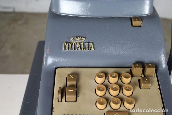 Antigüedades: Registradora Totalia años 50 - Foto 4 - 125168415