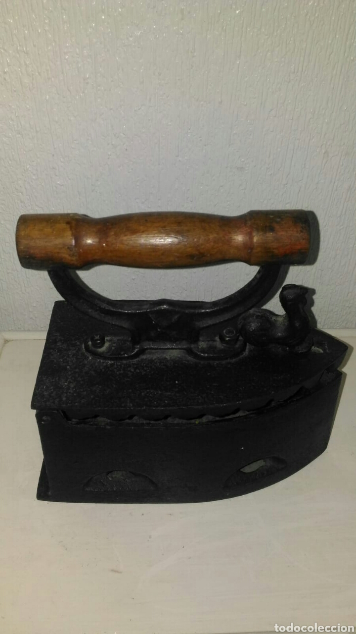Antigüedades: Plancha antigua - Foto 2 - 125190970