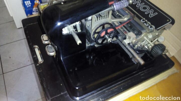 Antigüedades: Maquina de escribir AEG, MIGNON,Muy buen estado - Foto 7 - 125240294