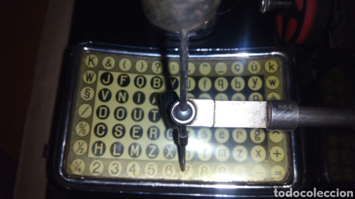 Antigüedades: Maquina de escribir AEG, MIGNON,Muy buen estado - Foto 12 - 125240294