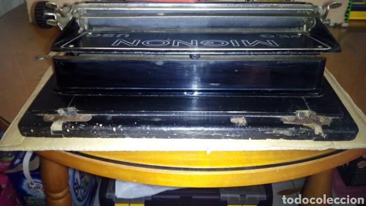 Antigüedades: Maquina de escribir AEG, MIGNON,Muy buen estado - Foto 14 - 125240294