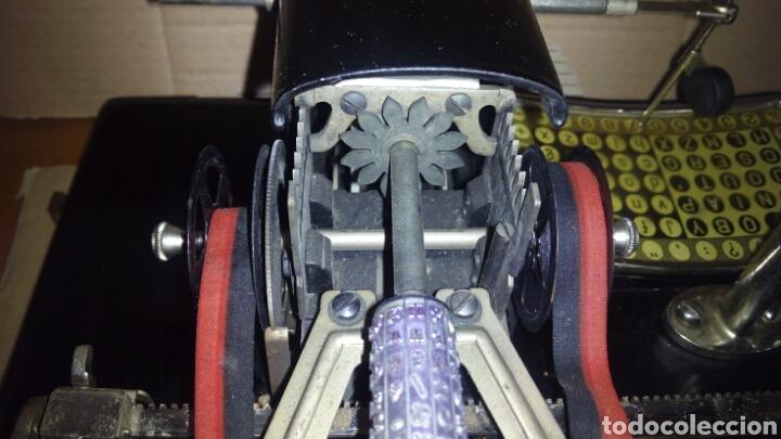 Antigüedades: Maquina de escribir AEG, MIGNON,Muy buen estado - Foto 17 - 125240294