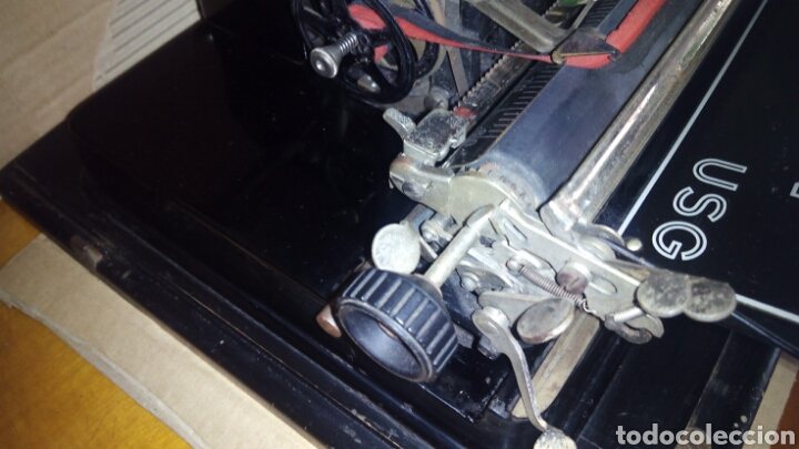 Antigüedades: Maquina de escribir AEG, MIGNON,Muy buen estado - Foto 18 - 125240294