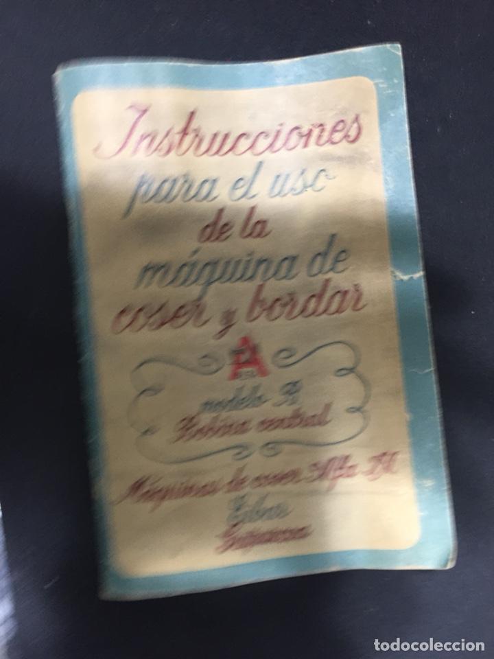 Antigüedades: Librito de instrucciones alfa - Foto 2 - 125274474
