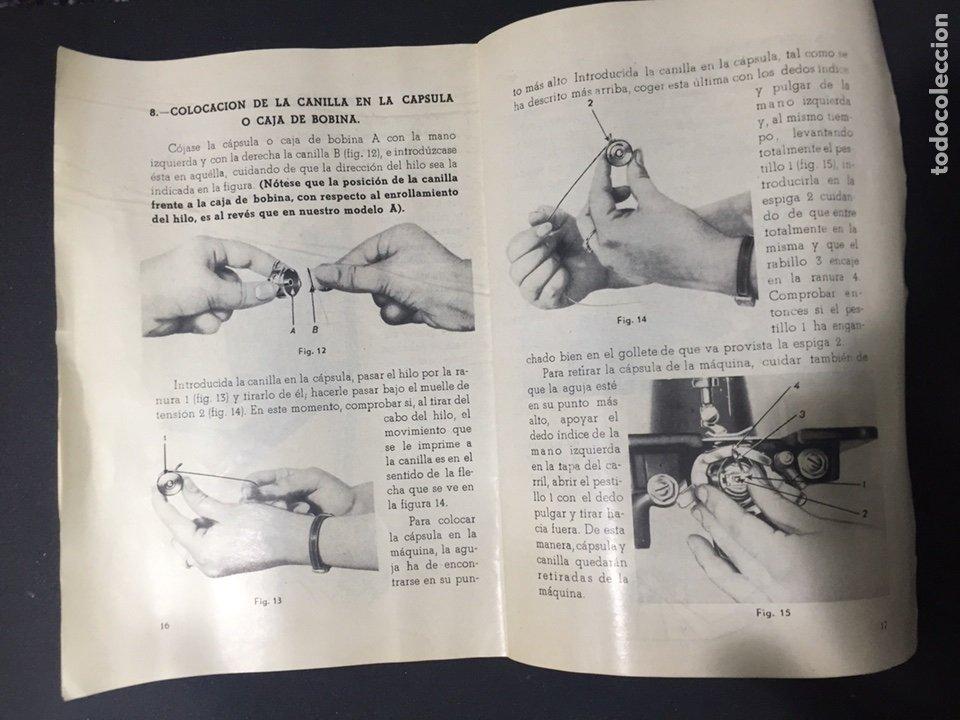 Antigüedades: Librito de instrucciones alfa - Foto 5 - 125274474