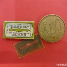 Antigüedades: LAUREL BLADE. MINI-CUCHILLA DE AFEITAR PARA DAMA.. Lote 125310835