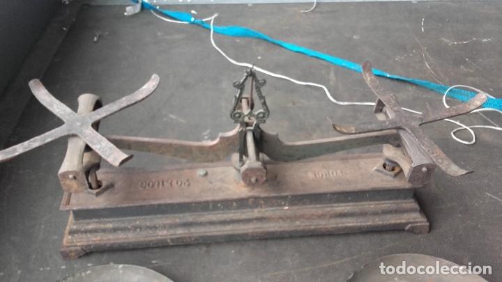 Antigüedades: Imponente balanza para pesar hasta 20 kilos - Foto 5 - 125311607