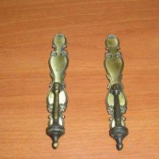 Antigüedades: 2 TIRADORES EN CALAMINA.. Lote 125333991