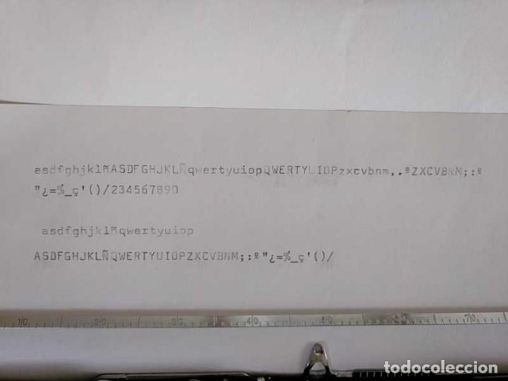 Antigüedades: MAQUINA DE ESCRIBIR HERMES BABY CON SU MALETIN TYPEWRITER - Foto 78 - 118229555