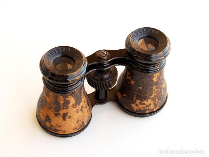 Antigüedades: *c1910-1930* • Pequeños binoculares antiguos de ópera CHEVALIER PARIS - Foto 3 - 125399927