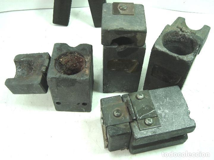 Antigüedades: CADWELD - KIT SOLDADURA EXOTERMICA -4X MOLDE CARTUCHO 90 65 MECHERO IGNICION-PINZAS POLVO CARTUCHOS - Foto 7 - 125404911