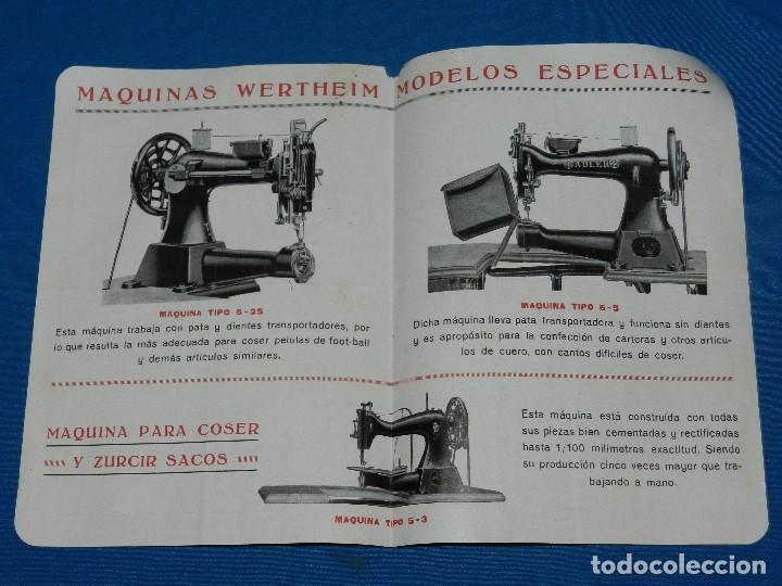 Antigüedades: (BF) CATALOGO MAQUINA DE COSER WERTHEIM , MODELOS ADLER TIPO 4-10 , TIPO 5-5 , TIPO 5-25 - Foto 2 - 125424187