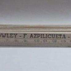 Antigüedades: NIVEL AUTOMÁTICO COWLEY - F. AZPILICUETA SAN SEBASTIAN. Lote 125446383