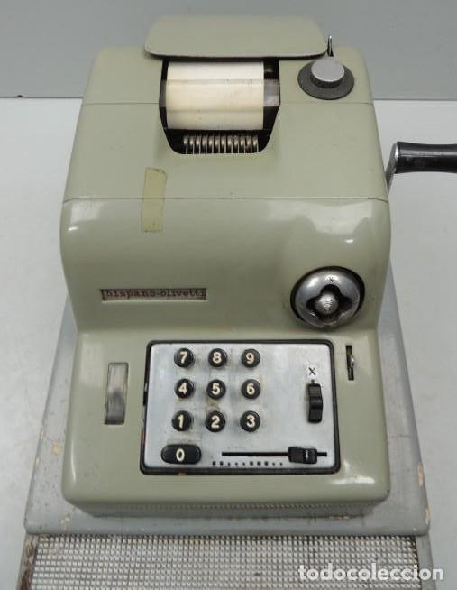 Antigüedades: Registradora marca HISPANO OLIVETTI. Años 70. Funciona. - Foto 5 - 125612403