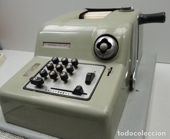 Antigüedades: Registradora marca HISPANO OLIVETTI. Años 70. Funciona. - Foto 6 - 125612403