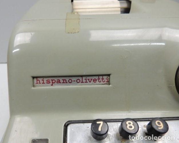 Antigüedades: Registradora marca HISPANO OLIVETTI. Años 70. Funciona. - Foto 8 - 125612403