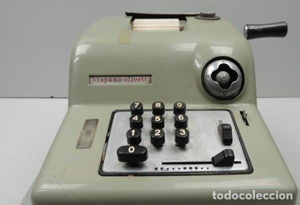 Antigüedades: Registradora marca HISPANO OLIVETTI. Años 70. Funciona. - Foto 9 - 125612403