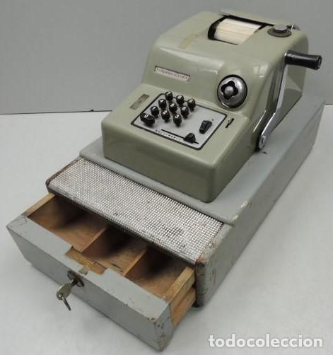 Antigüedades: Registradora marca HISPANO OLIVETTI. Años 70. Funciona. - Foto 11 - 125612403