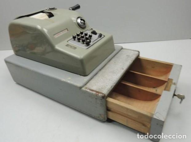 Antigüedades: Registradora marca HISPANO OLIVETTI. Años 70. Funciona. - Foto 20 - 125612403