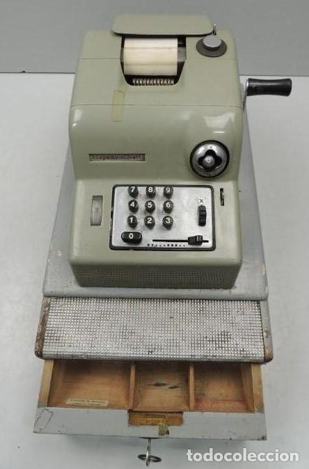 Antigüedades: Registradora marca HISPANO OLIVETTI. Años 70. Funciona. - Foto 21 - 125612403
