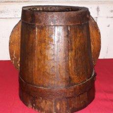Antigüedades: MEDIDA DE MADERA SIGLO XIX. Lote 125838887