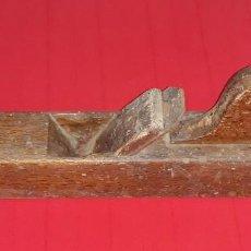 Antigüedades: ANTIGUA GARLOPA DE CARPINTERO. Lote 125923179