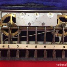 Antigüedades: MUY ANTIGUA CALCULADORA MARCA ADIX COMPANY DEL AÑO 1900. Lote 126016943
