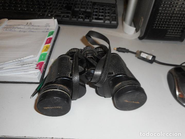 Antigüedades: prismaticos revue con su funda - Foto 3 - 126122679