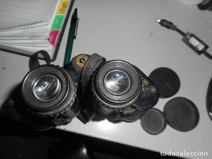 Antigüedades: prismaticos revue con su funda - Foto 5 - 126122679