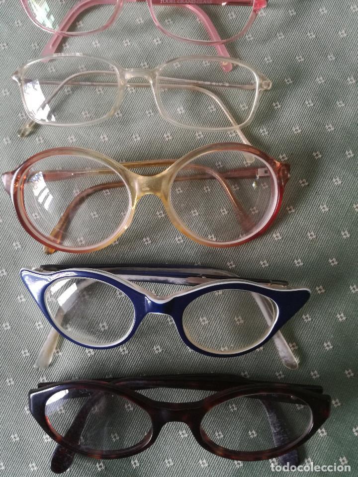 Antigüedades: Lote Antiguas gafas de mujer - Foto 2 - 126162019