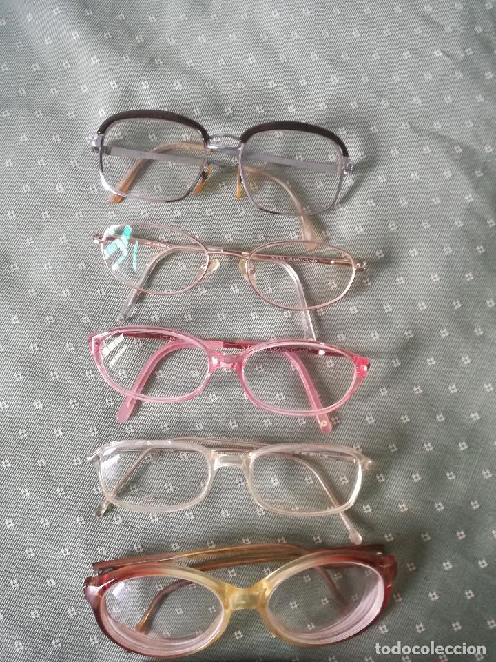 Antigüedades: Lote Antiguas gafas de mujer - Foto 3 - 126162019