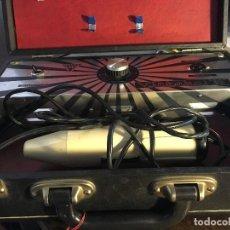 Antigüedades: ANTIGUO APARATO MEDICO MILLAS VIONIC ELECTROTERAPIA AÑOS 60 VICTOBEL 80. Lote 126280271