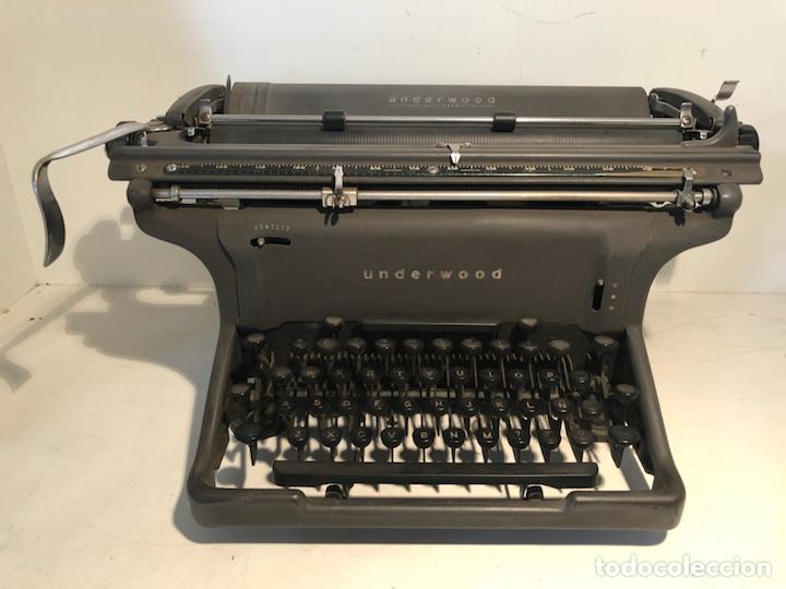 MAQUINA DE ESCRIBIR UNDERWOOD USA. (Antigüedades - Técnicas - Máquinas de Escribir Antiguas - Underwood)