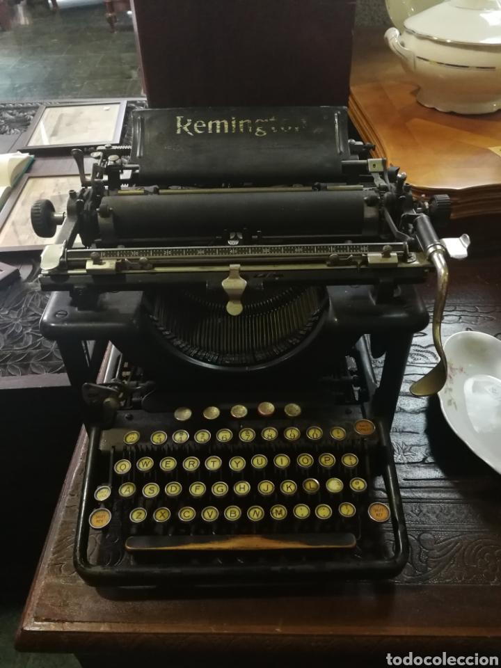 MÁQUINA DE ESCRIBIR REMINGTON. (Antigüedades - Técnicas - Máquinas de Escribir Antiguas - Remington)