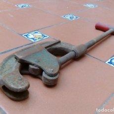 Antigüedades: CORTATUBOS STAHLWILLE EXPRESS - FABRICADO EN INGLATERRA - 57CM - 3/4 DE PULGADA A 3 PULGADAS. Lote 126441751