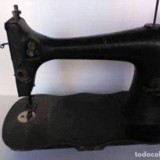 Antigüedades - Maquina de coser Singer 1888 base de violín - 138774636