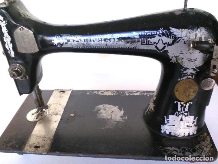 MAQUINA DE COSER SINGER 1915 FABRICADA EN ESCOCIA (Antigüedades - Técnicas - Máquinas de Coser Antiguas - Singer)