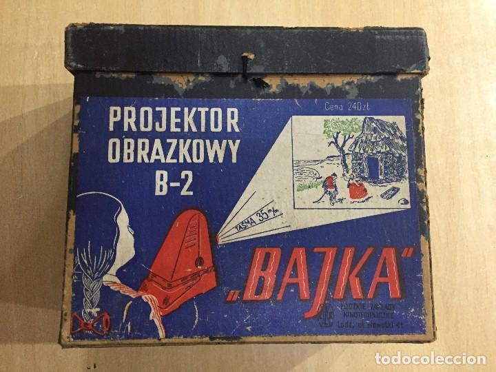 PROYECTOR OBRAZKOWY B 2 (Antigüedades - Técnicas - Aparatos de Cine Antiguo - Proyectores Antiguos)