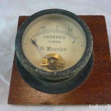 Antigüedades: AMPERIMETRO DR. MAURICE - Nº88236. Lote 132840534