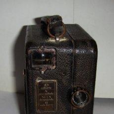 Antigüedades: CAMARA VIDEO 16MM. ZEISS IKON KINAMO S 10 CARL ZEISS TESSAR 15MM F2,7 FUNCIONANDO AÑO 1928 RARA. Lote 126547103