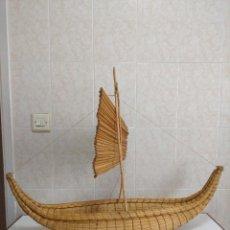 Antigüedades: BALSA (BARCO) TIPO MATA RANGI. Lote 126671415