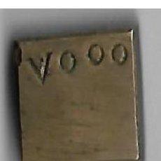 Antigüedades: ANTIGUO PONDERAL CON CONTRASTES 28 G. Lote 126875683