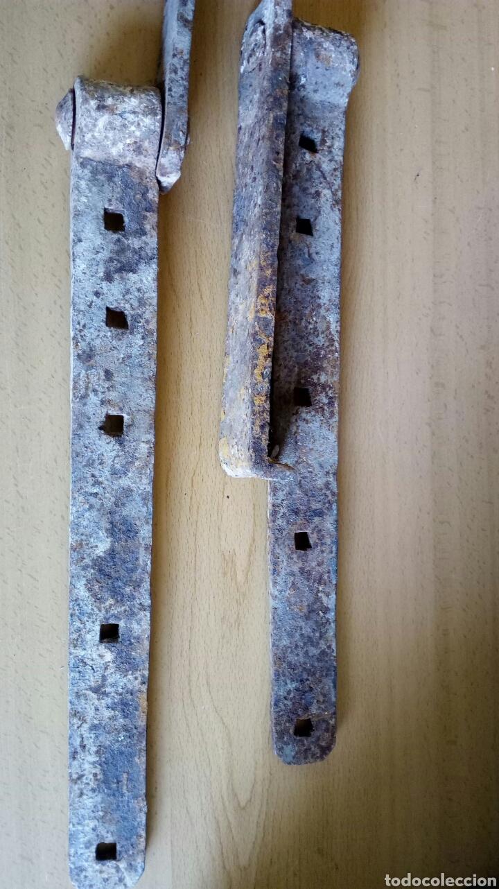 BISAGRAS DE FORJA (Antigüedades - Técnicas - Cerrajería y Forja - Bisagras Antiguas)