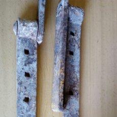Antigüedades: BISAGRAS DE FORJA. Lote 126876367