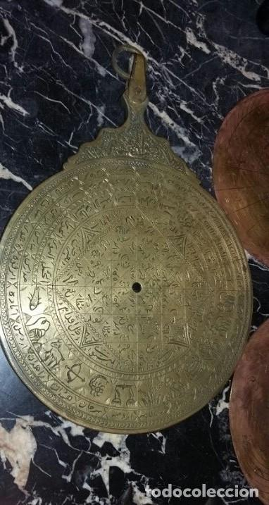 Antigüedades: ASTROLABIO OTOMANO SIGLO XVIII-XIX - Foto 5 - 126893051