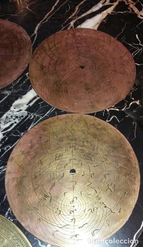 Antigüedades: ASTROLABIO OTOMANO SIGLO XVIII-XIX - Foto 6 - 126893051