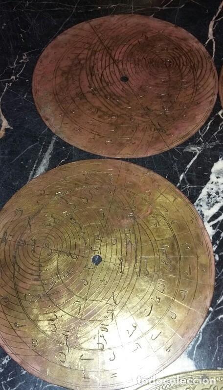 Antigüedades: ASTROLABIO OTOMANO SIGLO XVIII-XIX - Foto 9 - 126893051
